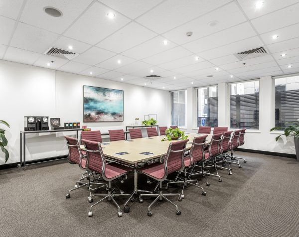 Wattle Boardroom at Collins Street Tower, 480 Collins Street Melbourne