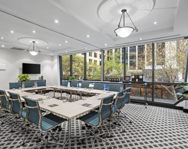 Boardroom at Exchange Tower, 530 Little Collins Street in Melbourne