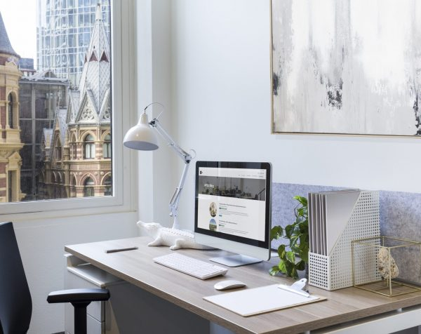 Serviced office at Collins Street Tower