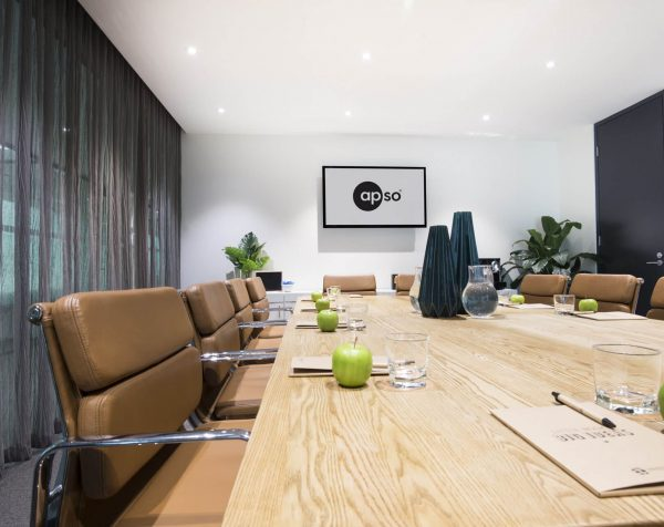 Boardroom hire at Bell City serviced offices Preston