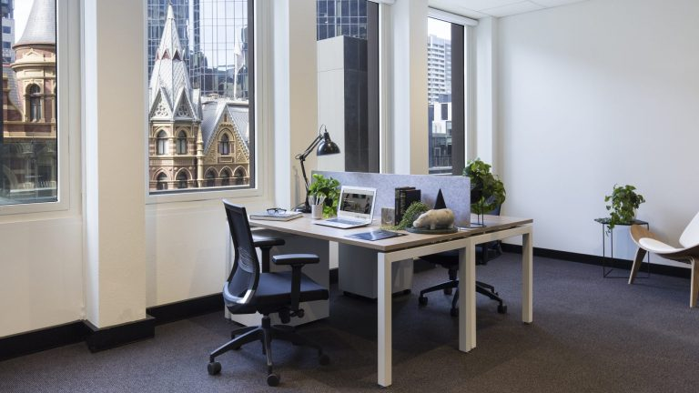 Serviced office with Collins Street views